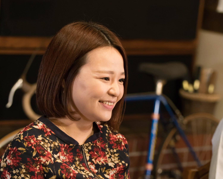 名取のジャズ喫茶「パブロ」の店長・半澤由紀さんの写真