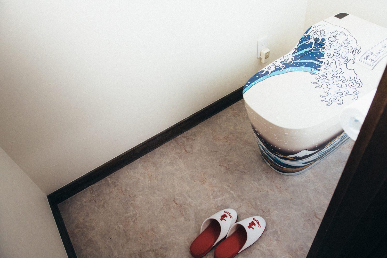 事務所のトイレ