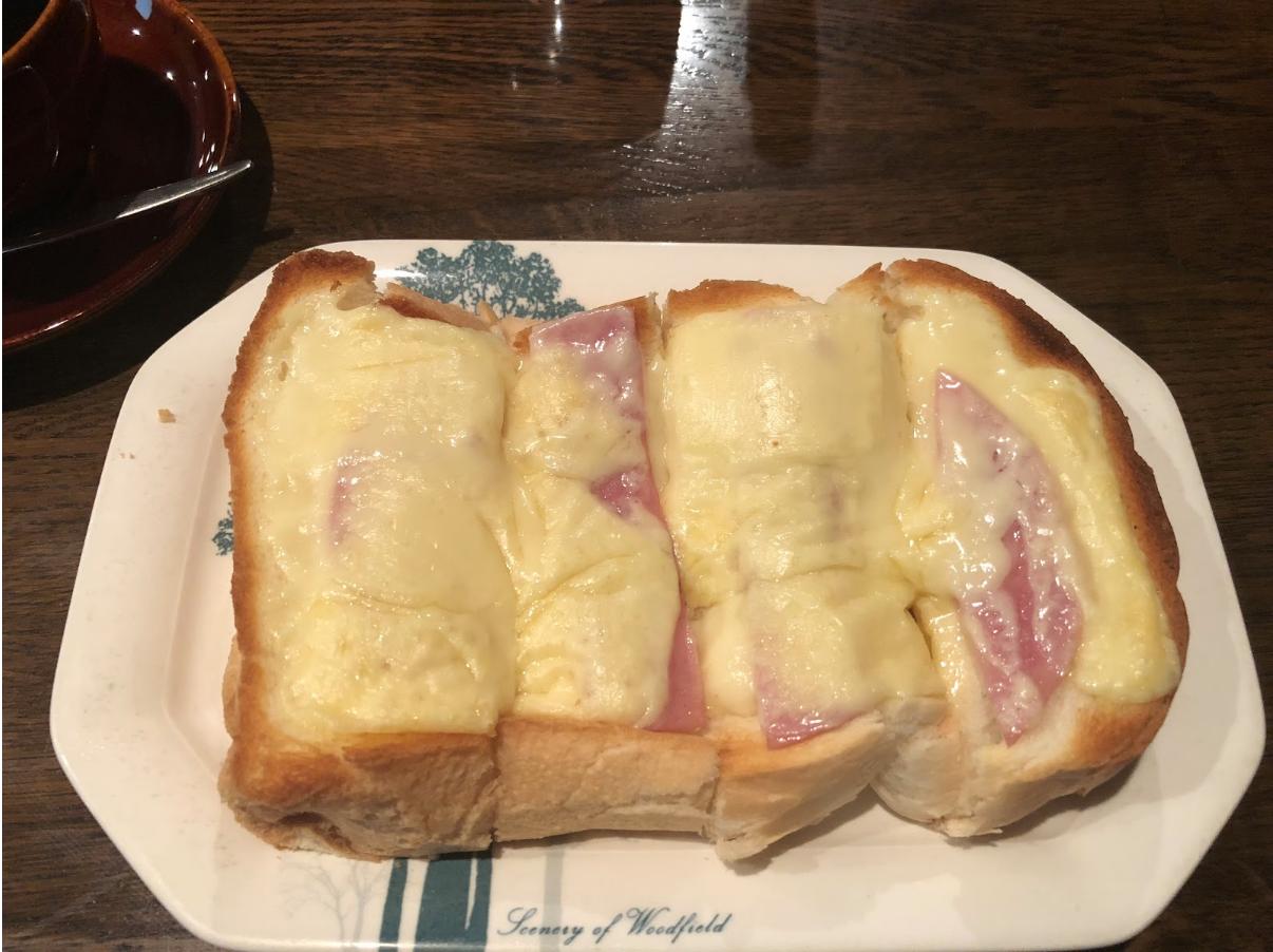 タピオラのピザトースト