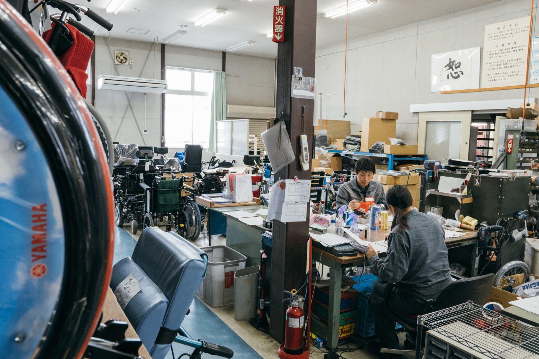 株式会社ジェー・シー・アイ工場の様子