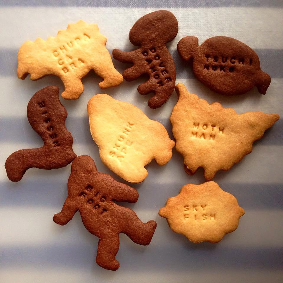 完成したクッキー