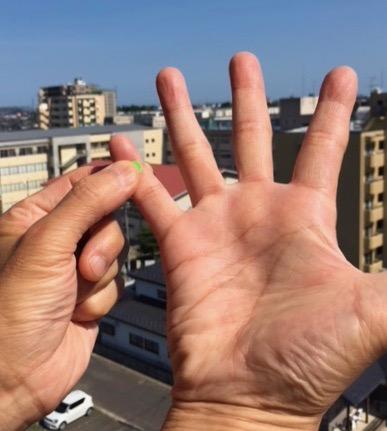 手の小指にあるツボ「腎穴」