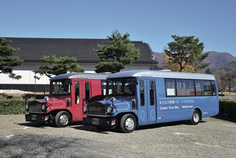 製造したボンネットバス