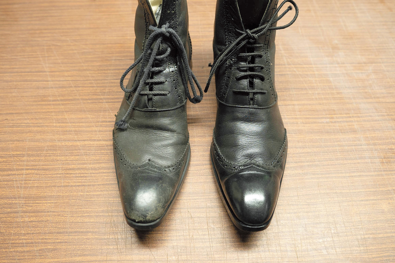 『匠』クリーニングで仕上がった靴