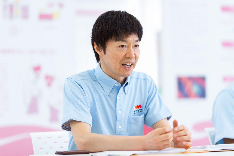インタビューに応えるゼライスの商品開発グループ森美和さん