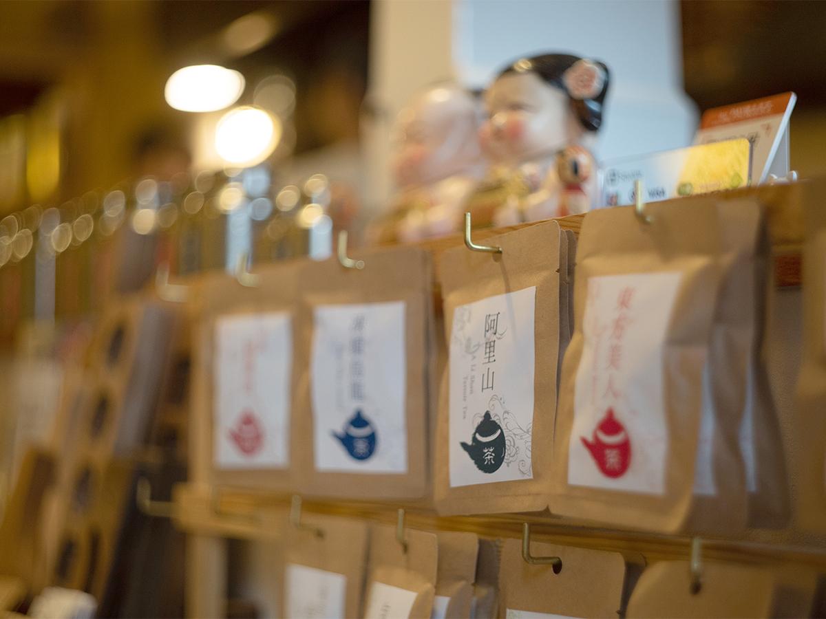 遠刈田温泉にある台湾飲茶のお店「台灣喫茶 慢瑶茶」で販売している茶葉