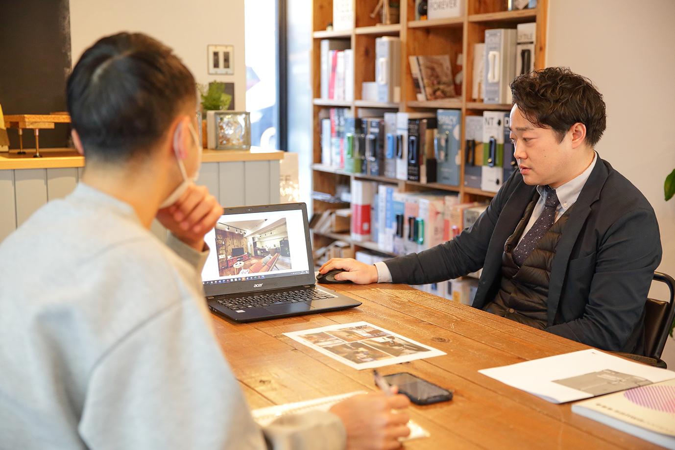 仙台支店の長谷川大貴さん