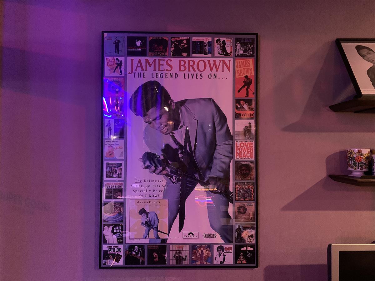 ジェームス・ブラウンのポスター
