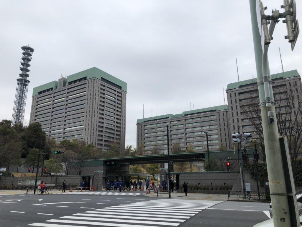東京・市ヶ谷の防衛省