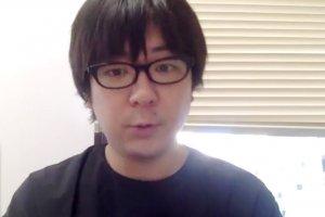 オンラインでインタビューを受ける三浦直之さん